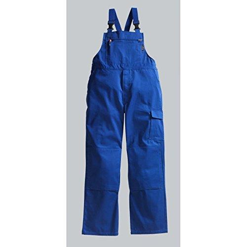 PIONIER WORKWEAR Herren Latzhose Cotton Pure in blau (Art.-Nr. 9492)