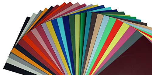 Kreativ Flock Bügelfolie A4 21 x 29,7cm Textiltransferfolie, Farbe:NEON-Orange (Neon-orange Kissen)