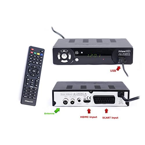 41mNjkOEXFL. SS500  - UK Freeview HD + WiFi Ready Set Top Digi Box Digital TV Receiver & HD 1080P USB Recorder. FULL HD DVB-T2.Terrestrial…