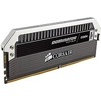 Corsair Dominator Platinum - Módulo de Memoria XMP 2.0 de Alto Rendimiento de 16 GB (2 x 8 GB, DDR4, 2666 MHz, C15)