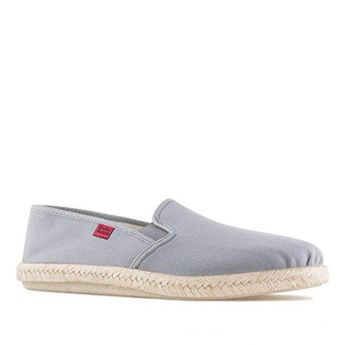 Andres Machado.AM500.Zapatos Clásicos, Piel con Cordones.Grandes Talla de la 46a la 51, (Gris), 45 EU
