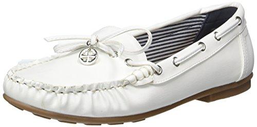 Jane Klain 242 424, Mocassins Femme Weiß (WHITE)