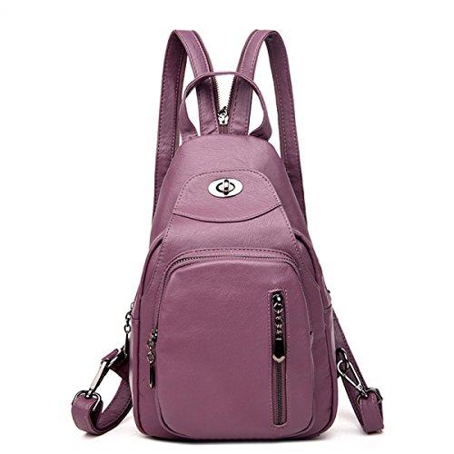 Schulter-Beutel-weibliche Kasten-Beutel-beiläufige Schulter-Handtaschen Einfacher Multifunktions-Spielraum-Rucksack C