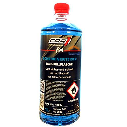 CAR1 Scheibenenteiser 1 Liter / Nachfüllflasche