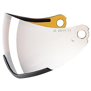 78aded4dc uvex Ersatzscheibe visier visor hlmt 300, litemirr. silver/goldlite single  lens, -