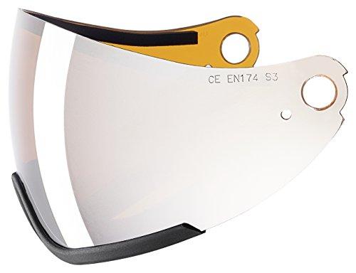 uvex Ersatzscheibe visier visor hlmt 300, litemirr. silver/goldlite single lens, -