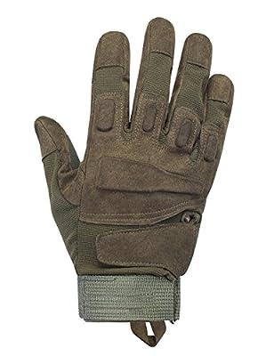 Sommer Outdoor Sporthandschuhe, Herren Taktische Handschuhe Atmungsaktive Verschleißfeste Motorradhandschuhe für Survival Radsports Camping
