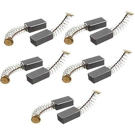 Sourcingmap® 5Paar 14mm x 8mm x 5mm Motor Kohlebürsten für Power Tool de