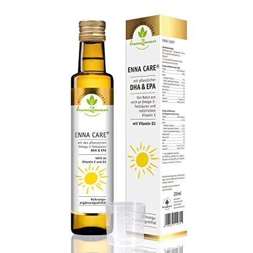 ENNA Care® mit VITAMIN D3, DHA + EPA - 250 ml MZL - (Weizenkeimöl, Leinöl + Vitamin D3, DHA, EPA)