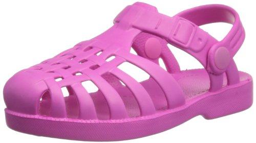 Playshoes Unisex-Kinder Beach/Bade Sandalen, Pink (pink 18), 20/21