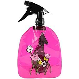 Promobo - Vaporisateur Spray Souple Smiley Picto Arrose Plante Rose 550ml