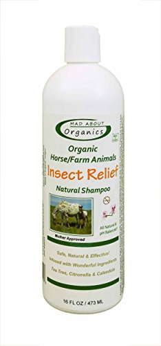 Mad About organics naturale a cavallo/Farm Animal Insect Relief shampoo 453,6gram