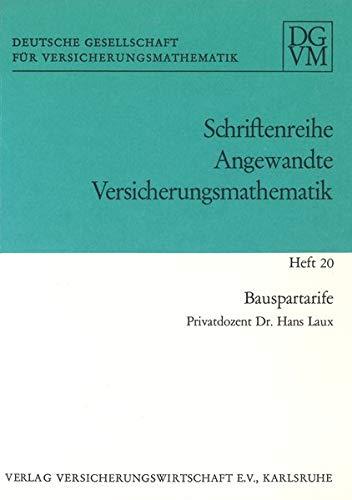 Bauspartarife (Angewandte Versicherungsmathematik)