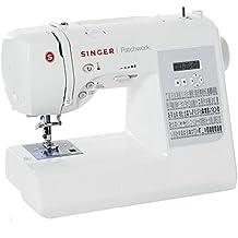 Singer Patchwork 7285Q - Máquina electrónica dedicada al quilt, color blanco
