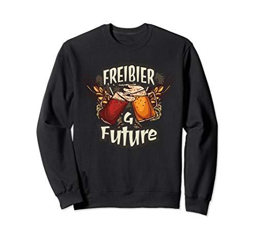 Freibier for Future - Politisches Oktoberfest Outfit Bier  Sweatshirt -