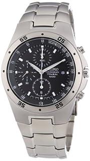 Seiko Men's Analogue Quartz Watch with Titanium Bracelet – SE-SND419 (B000J1YMX6) | Amazon price tracker / tracking, Amazon price history charts, Amazon price watches, Amazon price drop alerts