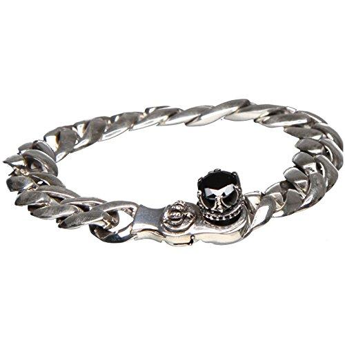 Bouddha to Light Argent Sterling Chaînes Bracelet Couronne Crown Onyx eie 399eur