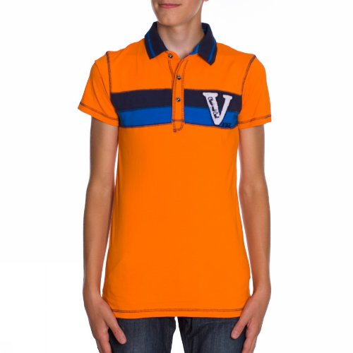 Name it Gamal Kids Ss 13084223 Vibrant Orange Polo Ragazzo Moda Orange 158-164 cm