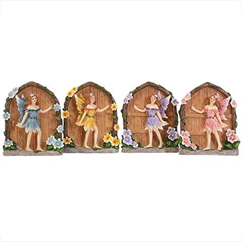 Beautiful Miniature Sparkle Fairy Doors Home and