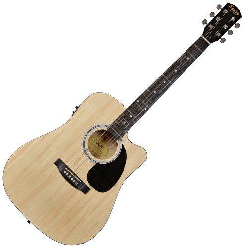 squier-by-fender-by-fender-sa-105ce-natural-elektroakustische-gitarren-folk-elektro-akustik