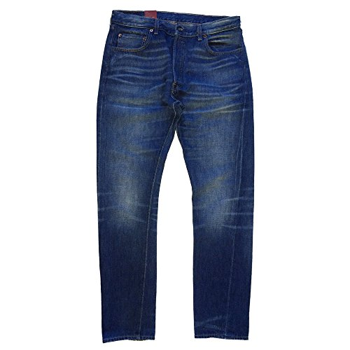 Levi's 1966 Jeans 501, dunkelblau, Customized, Vintage Clothing, Big E, W33/L32, 66466-0010, blau, 33/32 (Vintage Levi Clothing)