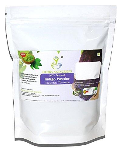 Herbs and Crops Natural Indigo Powder, Green, 227 g