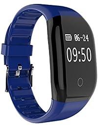 Niza hombres de fitness Tracker con monitor de frecuencia cardiaca, deportes reloj inteligente Monitor de