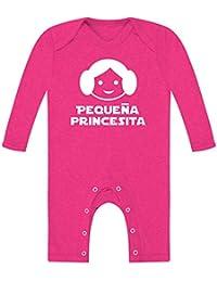 cf89549a7 Body bebé unisex. Pequeña princesita. Parodia Princesa Leia - Star Wars.  Regalo original
