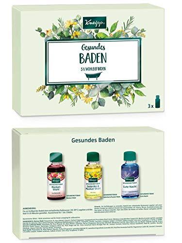 Kneipp Baden Geschenkpackung- Gesundes Baden, 4er Pack x (3 x 20ml)