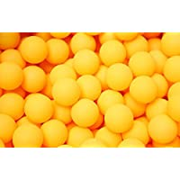 drawihi 50unidades pelotas de tenis de mesa para la formación plástico 40mm Tenis de Mesa SIN logotipo Sport Artículo
