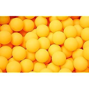 Demarkt 50x Tischtennis Bälle Ping Pong Bälle Tischtennisbälle ohne Aufdruck 40mm Weiß
