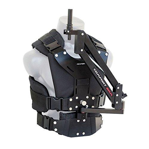 FLYCAM confort stabilisation Bras et gilet pour Flycam 5000/3000/DSLR-Nano Tenu à la main caméra Vidéo Steadicam Stabilisateur jusqu'à 5 kg | Stabilisation Monture de corps Système (CMFT-AV)