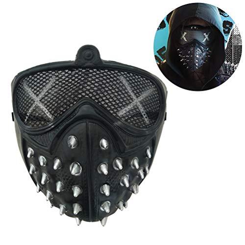 Punk Daft Halloween Kostüm - Egosy Halloween Maske Cosplay Kostüm Erwachsene Lange Schnabel Masken Harz Mechanische Zahnrad Maske für Halloween Prop Punk Helm Cosplay