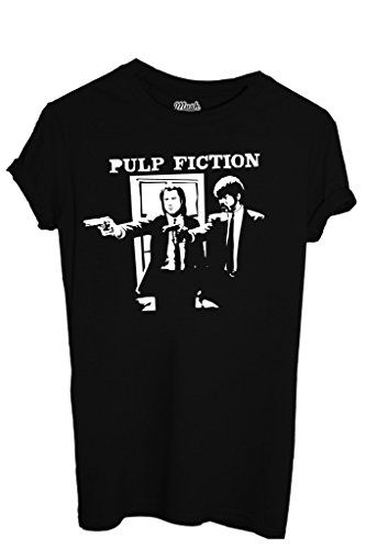 T-SHIRT PULP FICTION - MOVIE by MUSH Dress Your Style Uomo-L