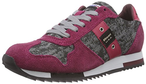 Blauer USAWORUNLOW/HER - Sneaker donna , Rosso (Rosso (rosso)), 38