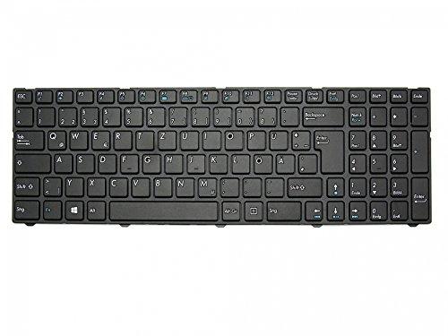 Tastatur DE (deutsch) schwarz/schwarz matt 40046264 für Medion Akoya E6237, E6239, E6239T, E6240, E6240T, E6241, E6647, E7223, E7223T, E7225, E7225T, E7226, E7226T, E7227, E7227T, E7228, E7411, E7415, E7415T, E7416, E7419, E7420, E7421, E7631, P6643, P6647, P7627, P7627T, P7628, P7631, P7631T, P7632, P7637, P7641, P7645 / Erazer P7643, P7644, P7645