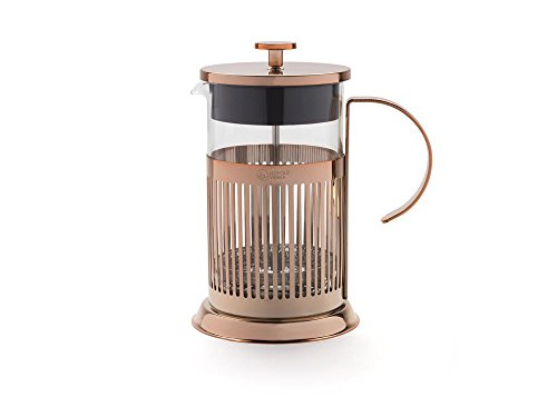 Leopold Vienna LV01519 Kaffeebereiter French Press Kupfer 800 ml, Stahl, kupferfarben, 12.1 x 16.89...