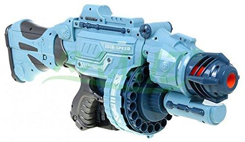 Blaze Storm Super Speed - Automatisch Groß Spielzeug Blaster - Silber