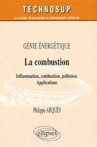 La combustion : Inflammation, combustion, pollution, applications