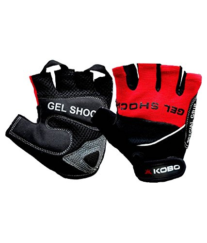 Kobo gloves offer a fantastic fit. The articulated gel palm provides maximum protection from abrasions. Heavy duty stretch panels along the back of the hand and between the fingers enhance the comfort, fit and flexibility.  Wearing a pair of gym gloves offer two benefits:- . It doesn't let your palms get abraded . It allows for a more firmer grip  These gloves by Kobo fulfills the above purposes extremely well.