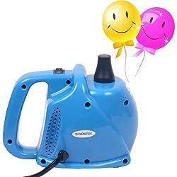 Signstek–Eléctrico portátil hogar soplador de aire eléctrica globo Bomba de aire inflador con 15000PA sola boquilla 700L/min Volumen de Aire