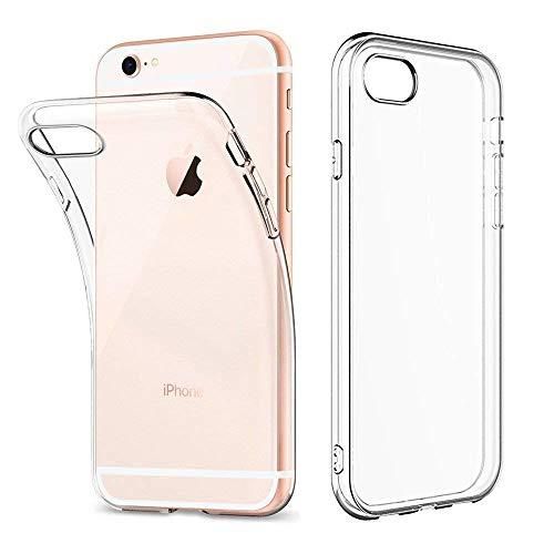 Amonke Handyhülle Durchsichtig für iPhone 6 6s - Silikon Transparent Hülle für iPhone 6s 6 - Crystal Klar TPU Case Backcover Schutzhülle für iPhone6 iPhone6s (4,7 Zoll)