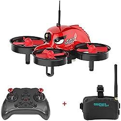 REDPAWZ R011 Drones con Cámara Profesional 1080P HD 720P WiFi FPV Selfie Sensor Gravedad Transmisor de Altitud Modo de Retención Mantenimiento de Altitud/Modo sin Cabeza/con Lente Gran Angular-RTF