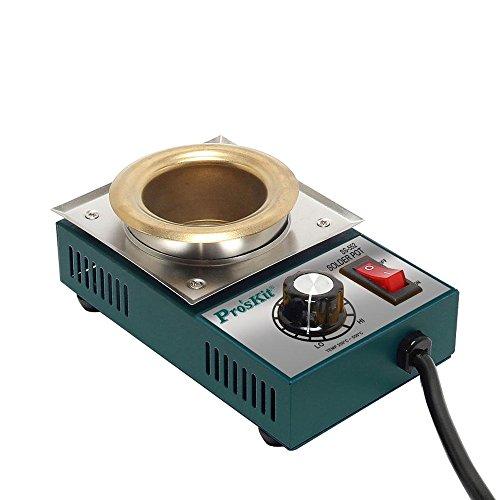 Pro Leafs & # 39; NHL ss-552h Hohe Qualität 200W Temperatur gesteuerte Löten Pot 0,5kg Melting Flux Zinn Topf Dose Dosen