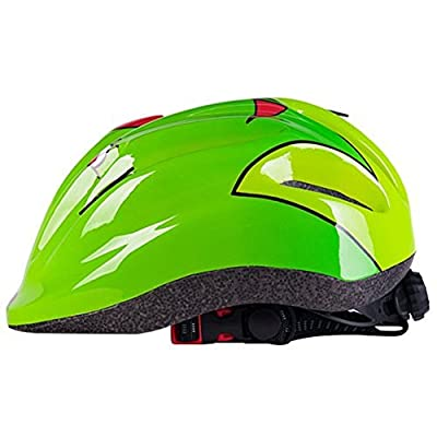 cheap4uk Bike Cycling Helmets Roller Skating Scooter Frog Design Safety Certified Bicycle Helmets Suitable for KidsTeen Boys & Girls under 15 Years by Cheap4uk