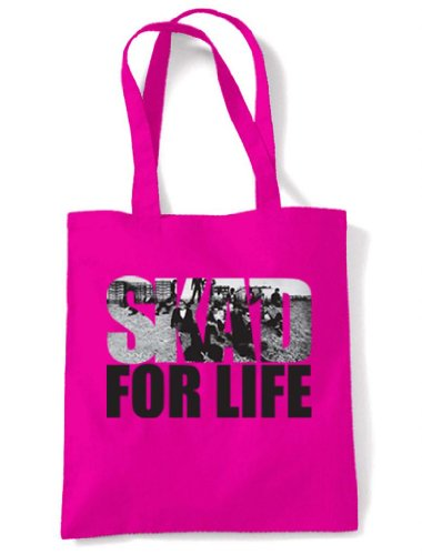 Ska'd For Life Tote Shopping Bag, Choice of Colours