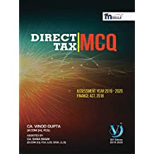 Direct Tax MCQs for CA Final (Old & New Course)