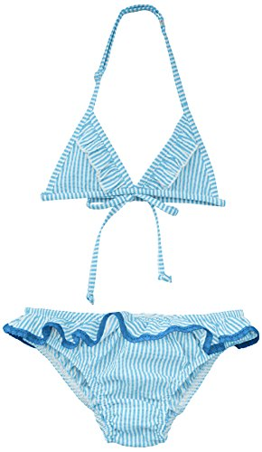 Canobio Mädchen Bikini Cosmos Blau (Rayé Bleu), 104