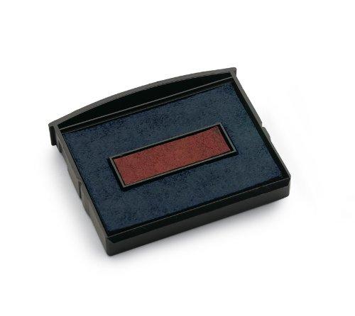 Colop 3202162302 Ersatzkissen E/2100/2 Inh.2 in Klappblisterverpackung, rot/blau