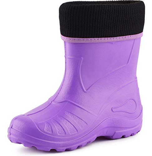 Ladeheid Children´s EVA Extra Light Wellington Boots Rainy Wellies Rain Boots KL058